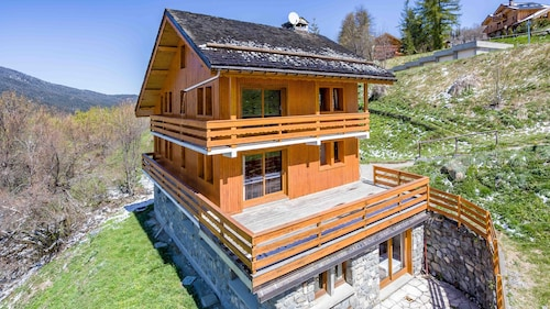 Chalet Rustique Meribel Village low Cost Station de Prestige