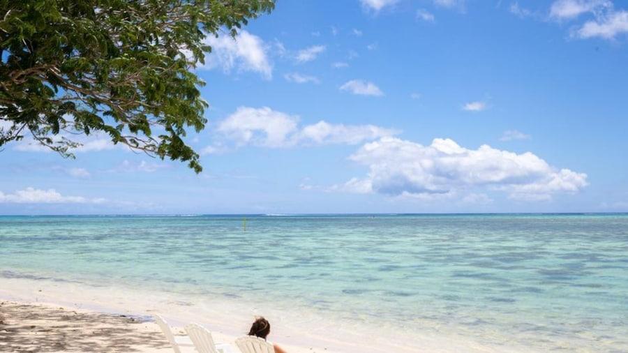 Moorea - Fare Tiki Beach