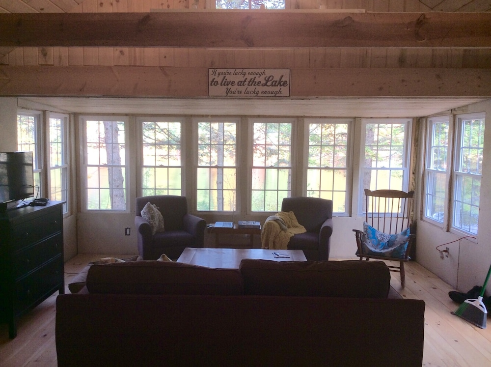 Living Room, Cozy Camp on Estes Lake