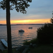 Enjoy Sunsets at Welcoming Lake Front Property