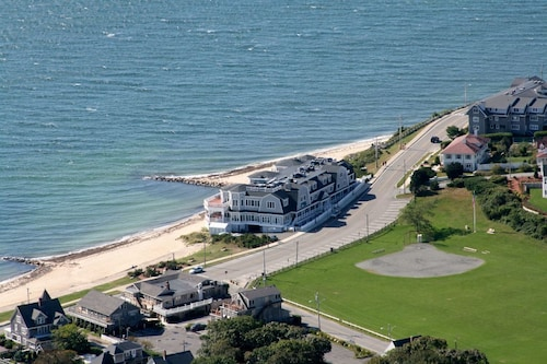 Beachfront Condo on Private Beach in Falmouth Heights