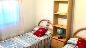 4 dormitorios, ropa de cama, accesible en silla de ruedas