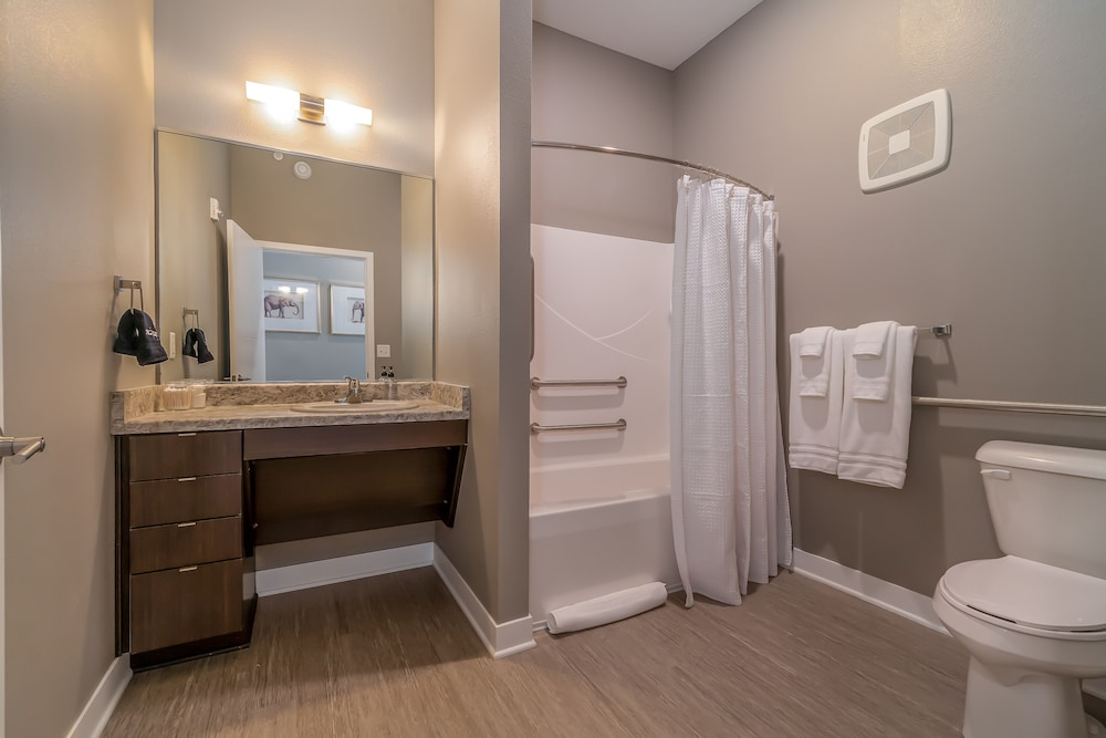Bathroom, Kasa Des Moines Downtown Apartments