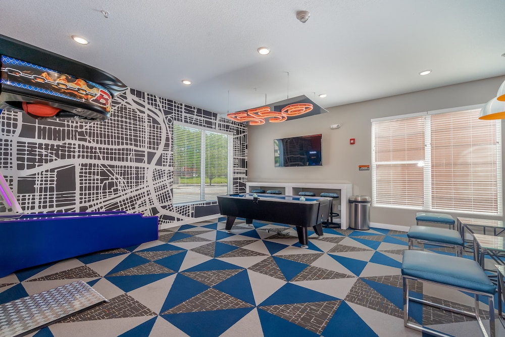 Game Room, Kasa Des Moines Downtown Apartments