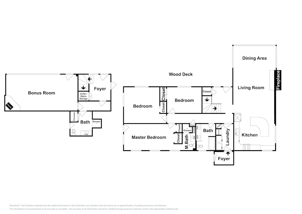 Floor plan, New Listing! Brighton Ski W/ Hot Tub 4 Bedroom Home