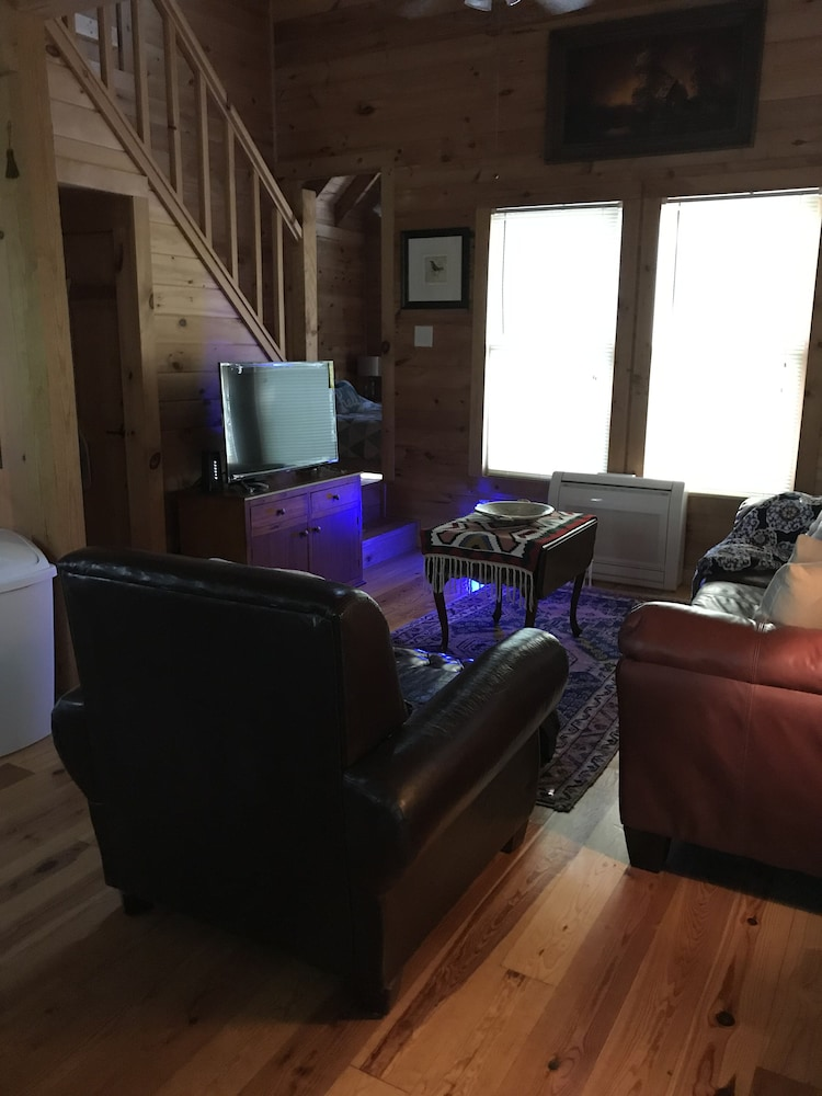 Living Room, Secluded, Cozy, Neat Cabin IN THE Mountain