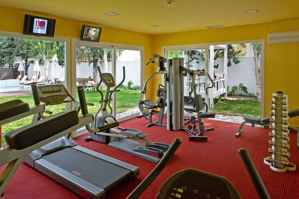 Gym, Luxury Rhodes Imperial Suite with private pool