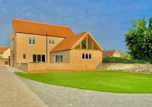 Brand New Luxury Detached Stone House in Idyllic Village