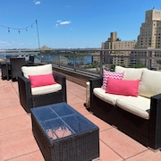 Huge Furnished NYC Apt w/2 Large Balconies on the Water