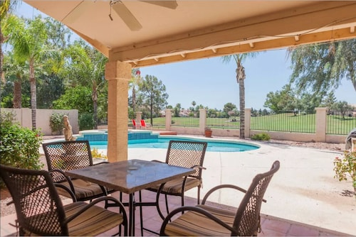 NEW 3BR 'ocotillo Haven' on Prime Golf Lot W/pool & Views!