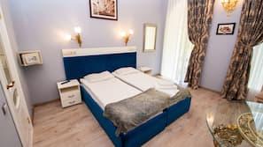 In-room safe, blackout drapes, bed sheets