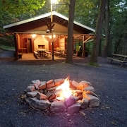 Secluded Mountain Retreat, Great For Large Groups, Near Juniata River 821-7091