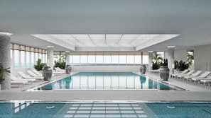 실내 수영장, 야외 수영장