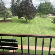 Best View at White Birch Otsego Club Overlooking Slopes and Golf Course