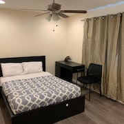 Room #3 - Furnished Single Bedroom With Shared Bathroom With Another Guest