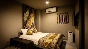 각각 다른 스타일의 객실, 각각 다르게 가구가 비치된 객실, 암막 커튼, 무료 WiFi