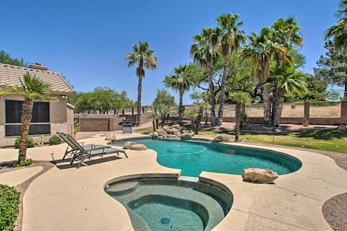 New! Ideally Located Chandler Home: Backyard Oasis