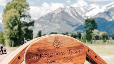 FOUR SEASONS JACKSON HOLE RESIDENCE IN THE HEART OF THE AMERICAN WEST.