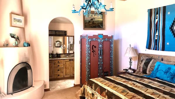 2 bedrooms, in-room safe, iron/ironing board, WiFi