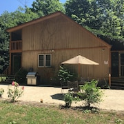 Secluded Family Cabin in the Woods, on Put-in-bay!