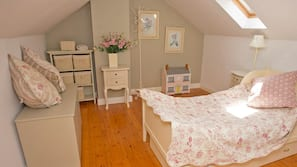 4 bedrooms, individually furnished, iron/ironing board