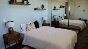 5 多间卧室、熨斗/熨衣板、上网接入、床单