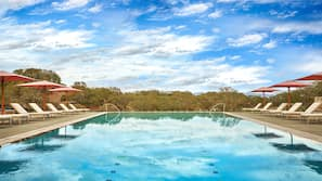 2 outdoor pools, open 7:00 AM to 10:00 PM, cabanas (surcharge)