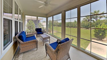 The Retreat at Barefoot Village: Patio, Grill, Yard -- Near Tennis & Pool