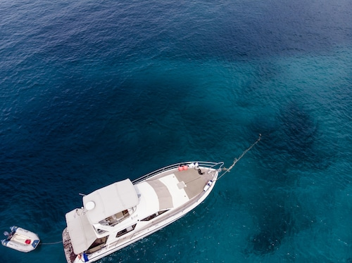 Private comfortable yacht for rent for a day or a night in phuket