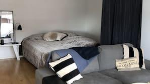 2 soverom og sengetøy