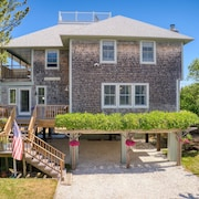 All Decked Out! Beautiful Plum Island Beach House with River and Ocean Views!