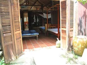 Peaceful Homestay in the Middle of Fruit Garden - Room With Four Double Beds
