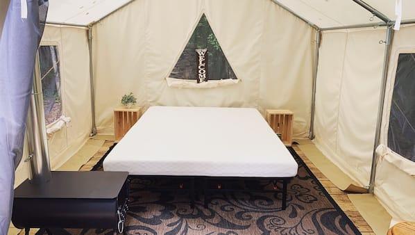 Memory foam beds, WiFi