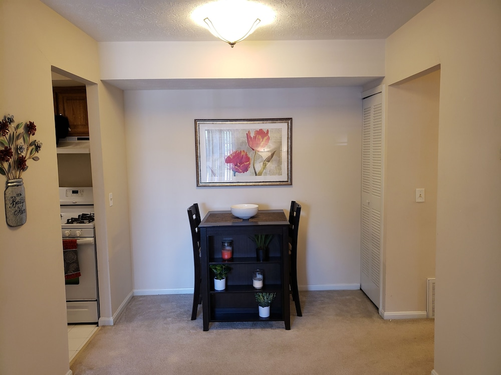 Living Room, Cozy North Olmsted Condo Near Everything!