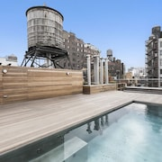 6000sf Unfurnished Loft W/new Bldg Rooftop Pool and Barbecue