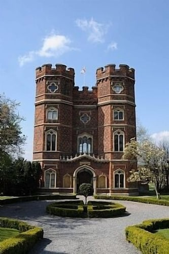 A 15th Gatehouse, Also Known as Wolsey's Tower & Featured Mantel's