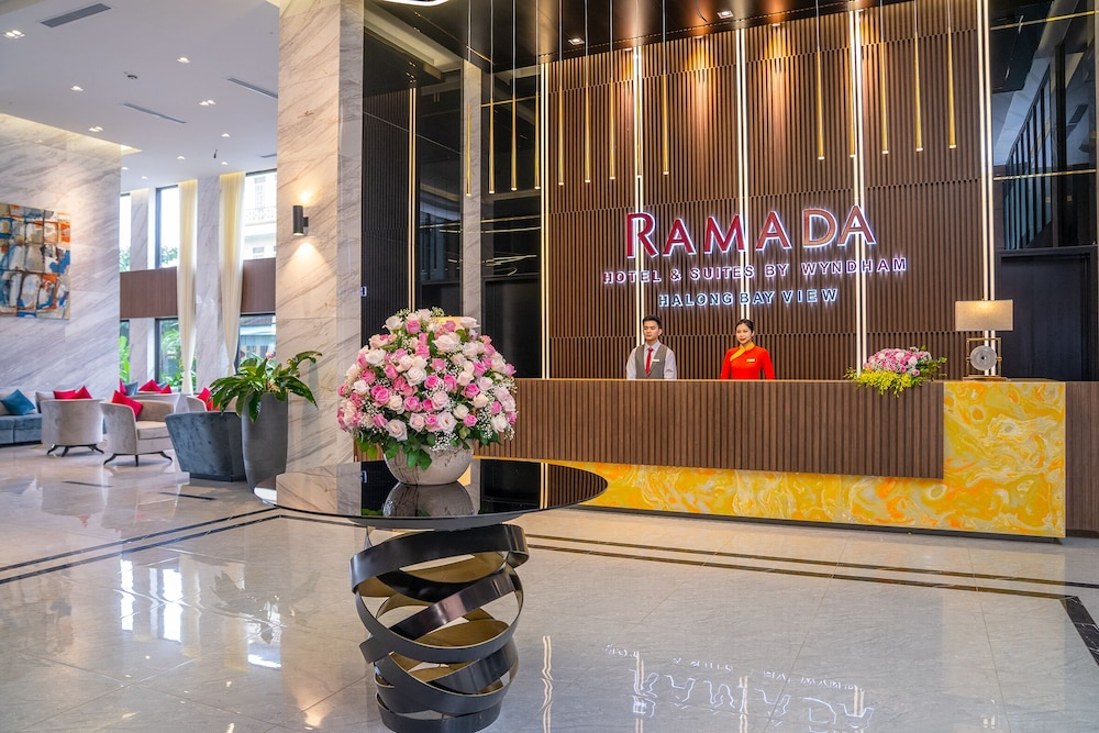 Reception, Ramada Hotel & Suites by Wyndham Halong Bay View