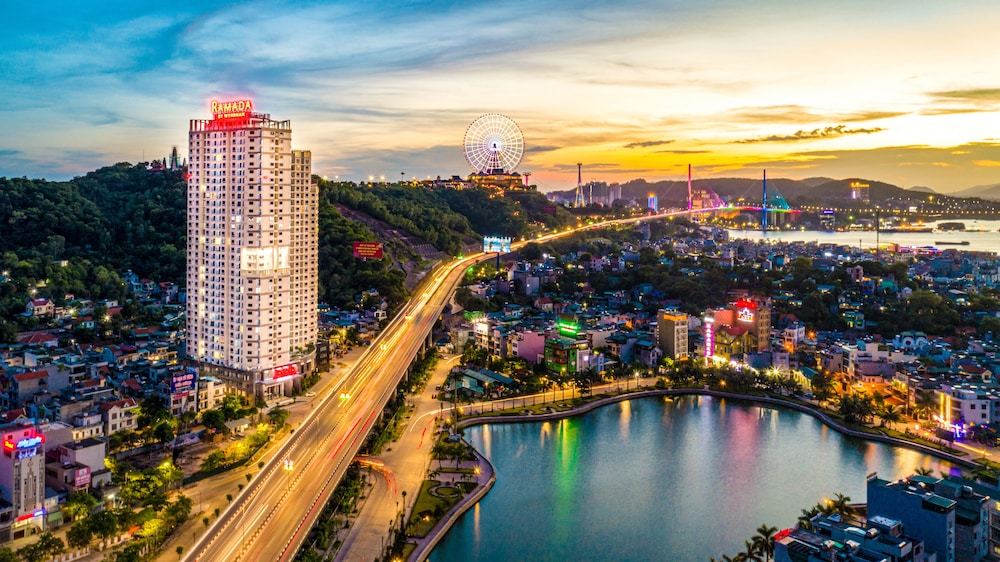 Aerial View, Ramada Hotel & Suites by Wyndham Halong Bay View