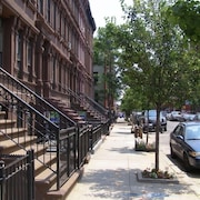 Comfortable and Convenient Manhattan 2 BR Harlem Brownstone
