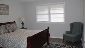 4 間臥室、熨斗/熨衫板、Wi-Fi、床單