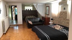 5 Schlafzimmer, Bügeleisen/Bügelbrett, WLAN