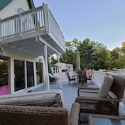 Lakefront House Located on Little Sebago Lake ~ 2,500 Sf. Ft