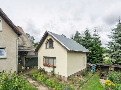 Graceful Holiday Home in Marienberg With Sauna, Garden, BBQ