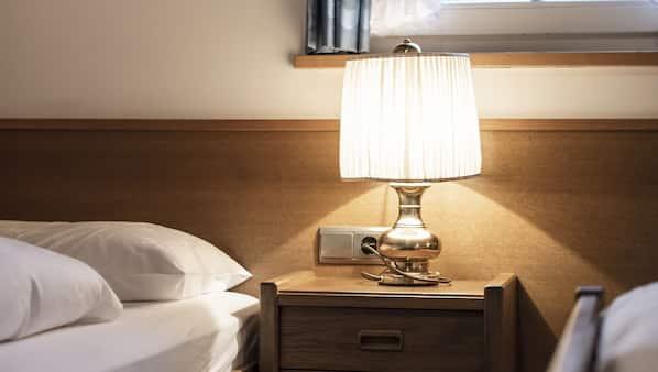 2 Schlafzimmer, Zimmersafe, Bügeleisen/Bügelbrett, Reisekinderbett