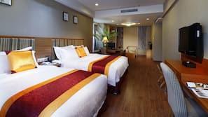 1 개의 침실, 고급 침구, 오리/거위털 이불, 미니바