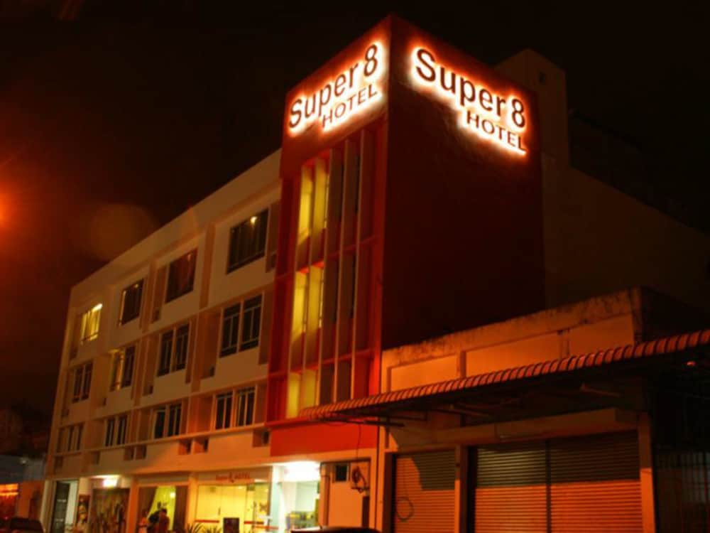 Front of Property - Evening/Night, Super 8 Hotel @ Georgetown