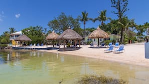 Private beach, sun loungers, snorkeling, kayaking
