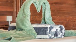 1 Schlafzimmer, hochwertige Bettwaren, Zimmersafe, kostenloses WLAN