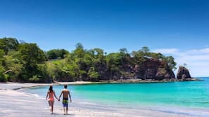 Private beach, beach towels, snorkeling