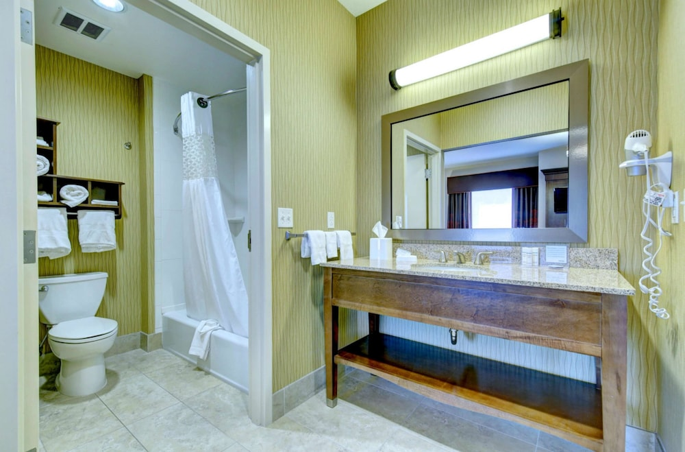 Bathroom, Hampton Inn & Suites Harrisburg/North, PA